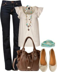 Love this look. Love the style of the top but prefer in a jewel tone or black