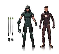 DC Collectibles TV: Arrow & The Flash Action Figure (2 Pack) Review