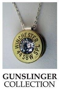 Art bullet jewelry recycled-jewelry