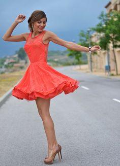 Ax Paris Just Coco skater dress vestido