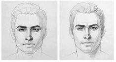 -Face drawing reference Face drawing reference See it Drawing The Human Head, Face Drawing Reference, Drawing Heads, Anatomy Sketches, Anatomy Drawing, Anatomy Art, Pencil Art Drawings, Art Drawings Sketches, Art Abstrait