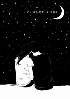 You are the sweetest, most funny, attractive in every way, indescribably beautiful beautiful human. Couple Drawings, Couple Art, Cute Love, Love Art, Cute Wallpapers, Cute Couples, Iphone Wallpaper, I Am Awesome, Love Quotes