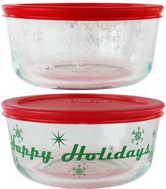 Pyrex 4-pc. Holiday Food Storage Set