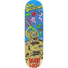 "Deathwish Dickson Death Toons II 8.12 Skateboard Deck - http://shop.dailyskatetube.com/?post_type=product&p=3380 - Deathwish Dickson Loss of life Toons II 8.12 Skateboard Deck Logo: Deathwish Deck width: 8.12"" NOTE: Does now not include griptape. Griptape should be ordered one at a time. PRO: JON DICKSON -"
