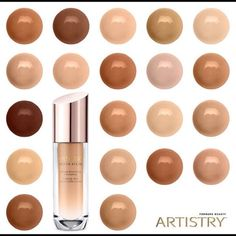 Artistry Youth Xtend Foundation Lifting Smoothing Foundations. Available in 20 different colors. Artistry Makeup Foundation