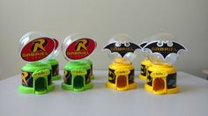 Baleiro Batman e Robin - Candy Machine   Sonhart Festas   Elo7