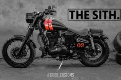 Grid7 Customs is back with another build and this time around they've gone all dark and red.