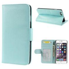 Köp Plånboksfodral Smooth Apple iPhone 6 Plus ljusblå online: http://www.phonelife.se/planboksfodral-smooth-apple-iphone-6-plus-ljusbla