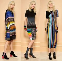 Trending alerts 2016 from @Missoni signature knit, checkerboard designs, rainbow motifsand vibrant color-piecing Color-blocked gloves, heels  #missioni #fallfashiontrends2016 #wwd #womenswear #fashionblogs #fashionnews #fashiontrends #womensfashiontrends #luxury #athleticwear #sportswear #fashiontrends2016 #vogue #fashionbloggers #fashionnews: