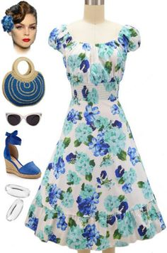 Our fabulous Plus Size Peasant Top Floral Sun Dress was just restocked in Aqua & Blue Rose! Sizes XL-3X! Buy yours here at Le Bomb Shop: http://lebombshop.net/search?type=product&q=peasant+top+floral+sun+dress&search-button.x=0&search-button.y=0
