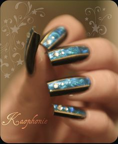 peacock by Kaophonie - Nail Art Gallery nailartgallery.nailsmag.com by Nails Magazine www.nailsmag.com #nailart