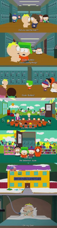 """South Park """"Safe Space"""" Butters Kyle Reality"""