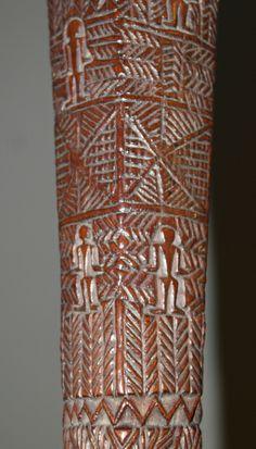 tribal war glyphs   ... Tongan club Akau tau   Tongan tribal art antiques and weapons gallery