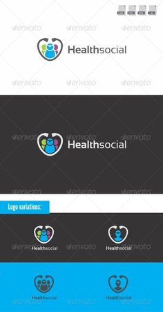 Health Social - Medical Logo #GraphicRiver Health Social is a medical logo template. This logo is combination from Stethoscope and people silhoutte Includes: 2 logo Variations 100% Editable & Resizable Package Contents: CDR (X4), AI, EPS , and PNG transparant files Fonts Used: Sansation ( .dafont /sansation.font) Created: 6July12 GraphicsFilesIncluded: TransparentPNG #VectorEPS #AIIllustrator #CorelDRAWCDR Layered: No MinimumAdobeCSVersion: CS3 Resolution: Resizable Tags: