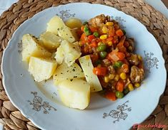 Tofu, Potato Salad, Potatoes, Vegetarian, Ethnic Recipes, Sweet, Red Peppers, Candy, Potato