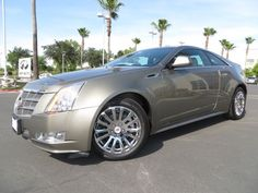 2011 @cadillac CTS Coupe 2dr Cpe Performance RWD #Cadillac #FresnoInfiniti #dealership #dealer #Fresno #Clovis #Madera #Visalia #car #luxury