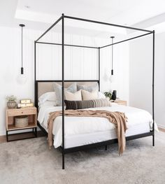 Home Interior Salas .Home Interior Salas Modern Master Bedroom, Small Room Bedroom, Master Bedroom Design, Bedroom Inspo, Home Decor Bedroom, 70s Bedroom, Bedroom Wall, Bedroom Inspiration, Bedroom Signs