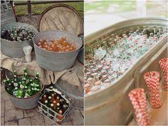 Wedding Buckets and Tubs