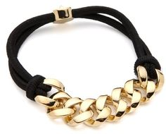Marc By Marc Jacobs Gold Sporty Turnlock Bracelet from www.lyst.com