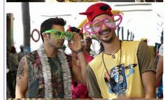 Varun and Raghav for happy birthday from abcd2!