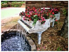piano flower bed - Google Search
