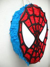 como hacer piñatas paso a paso - Yahoo Image Search Results Spiderman Theme Party, Superhero Birthday Party, Man Birthday, Hulk Birthday, Monster Party, Fête Spider Man, Spider Man Party, Fete Emma, Deco Ballon