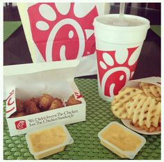 Chick-fil-a gift cards for the kids' stockings