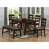 Found it at Wayfair - Milton Green Star Valencia 6 Piece Dining Set