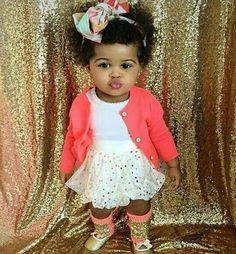 This Lil lady is soooo cute...