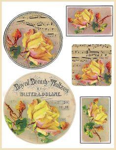 Vintage Printable.....
