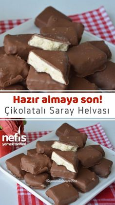 Artık Marketten Almayın Çikolatalı Saray Helvası Tarifi (Videolu) - Nefis Yemek Tarifleri How To Make Chocolate Palace Halva Recipe (With Video) Illustrated explanation of this recipe in the book of people and photos of those who try it are here. Halva Recipe, How To Make Chocolate, Smoothie Recipes, Gourmet Recipes, Fudge, Food Print, Yummy Food, Delicious Recipes, Food And Drink