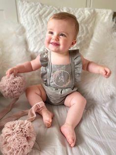 Personalised linen baby romper 100% linen linen baby romper   Etsy Rompers, Etsy, Hand Made, Romper Clothing, Romper Suit, Onesies, Romper, Jumper Pants