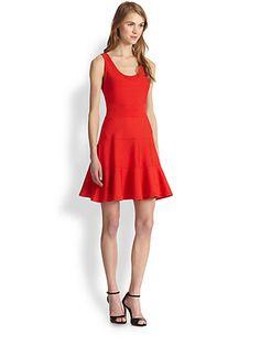 Diane von Furstenberg - Perry Fit and Flare Dress - Saks.com