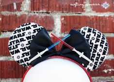 Star Wars Minnie Mouse Ears by CraftingCompass on Etsy