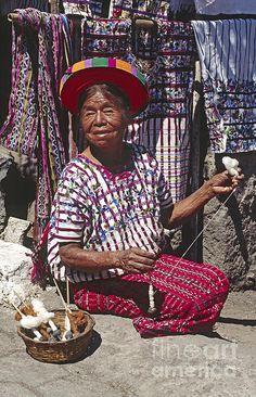 Tzutujil Woman - Santiago Atitlan Guatemala | Photo by Craig Lovell with Pin-It-Button on FineArtAmerica