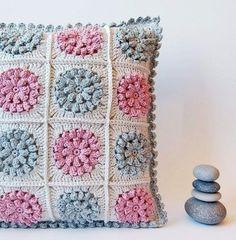 Вяжем подушку