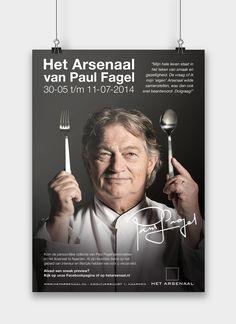 Het Arsenaal Naarden - Poster ontwerp