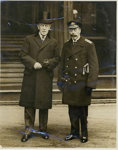 President Wilson and King George V of England by Woodrow Wilson Presidential Library Archives, via Flickr