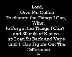 Vaping prayer