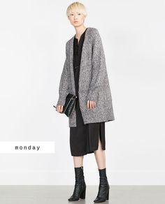 #zaradaily #monday #knitwear #dress #shoes