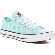 Converse Chuck Taylor All Star Oxford Perforated Canvas Sneakers (Women)