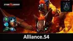 Man Of the Match Alliance.S4  Plays Batrider Alliance Vs Secret - Starla...