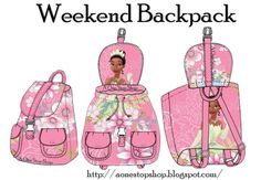 Weekend Backpack – Free PDF Sewing Pattern to Print by Serenayuet #sewing