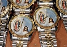Jesus And Mary Wristwatches                                                                                                                                                                                 More