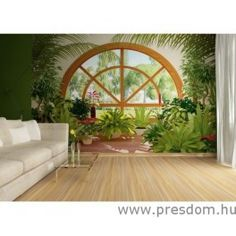 Belső Kert Plants, Design, Murals, Peace, 3d, Google, Natural Building, Wall Murals, Wall Paintings