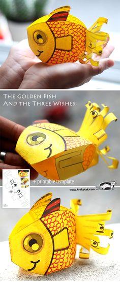 kids craft fish