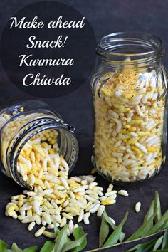Kurmura Chiwda - Make Ahead Meals - Cookilicious - Make ahead meals ...