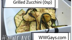 An easy and tasty side for any barbecue! Olive Oil Spray, Grilled Zucchini, Chili Lime, Balsamic Vinegar, Trader Joes, Barbecue, Grilling, Spices, Easy Meals
