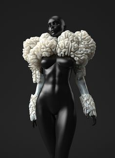 Oxman's digitally grown and 3D-printed wearables
