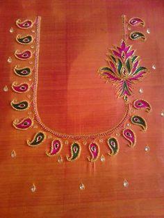 Perfect for designer pattu saree http://mytailor.in/